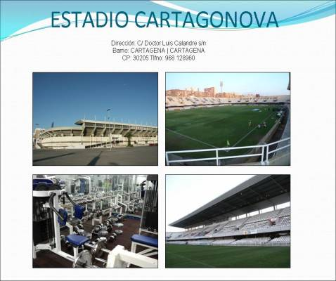 Estadio Municipal /Gimnasios Cartagonova