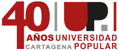 Logotipo del 40 Aniversario de la UP